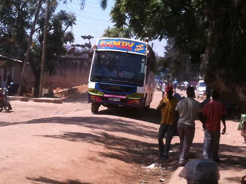 Bus Sumbawanga.