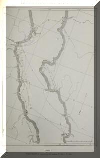 Carte des stations de récoltes de l'expédition hydrobiologique de Max Poll au lac Tanganyika.