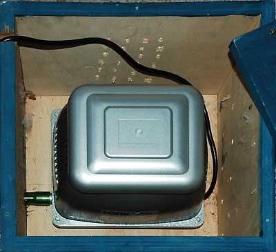 Compresseur à diaphragme JEBO P85 .