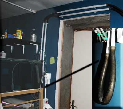 Canalisation d'air pour locarium | l'aération de la fishroom .