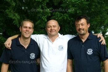 Benoit Jonas, Laurent Picot, Benoit Fighiera.