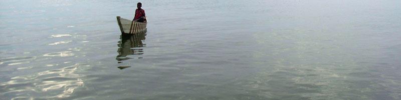 Pêcheur à Uvira